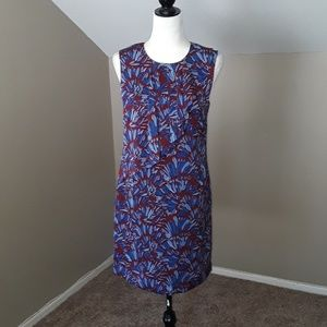 Banana Republic Front Ruffle Dress